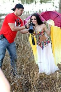 Orlando belly dancer Carrara Nour