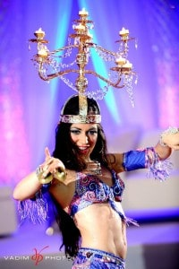 Belly Dancer for Tampa Wedding