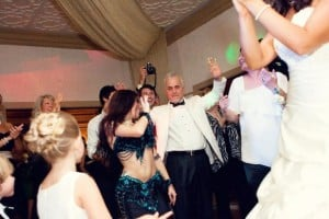 Carrara Performs Belly Dance At A Turkish American Wedding In Orlando