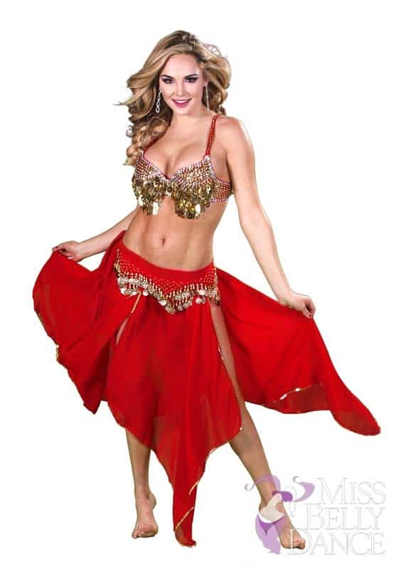 A Perfect Belly Dance Costume For Halloween, Just $64.99 From  MissBellyDance.com!