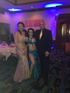 Belly Dancer Carrara Nour performs an Engagement Party in Tampa