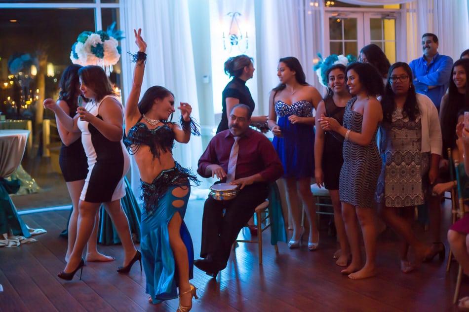 Daytona Belly Dancer Carrara Nour at Crystal Ballroom Sunset Harbor