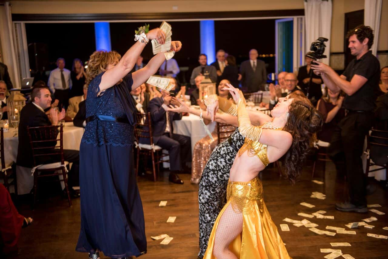 Orlando belly dancer Carrara Nour performs a Disney-themed Lebanese wedding at Reunion Resort Orlando, FL. Photo by Cricket's Photo and Video